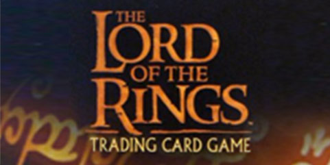 LOTR TCG East Wall of Rohan 4U323 The Two Towers Lord of the Rings VF FOIL