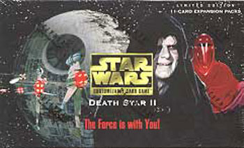 Star Wars CCG Death Star II I Feel The Conflict
