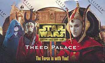 Star Wars CCG Theed Palace Bok Askol